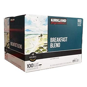 Kirkland Signature - Breakfast Blend - K-Cups (110 cups)