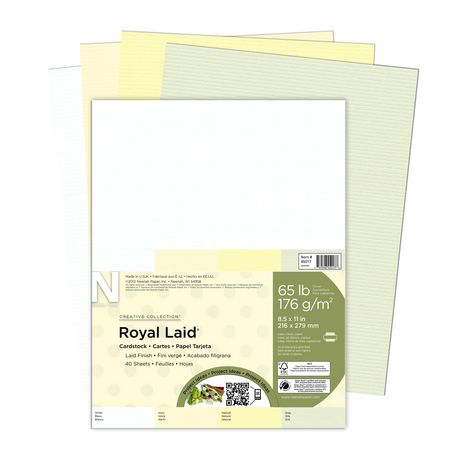 Royal Laid Assorted Letter Paper