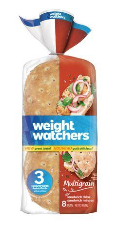 Weight Watchers Multigrain Sandwich Thins