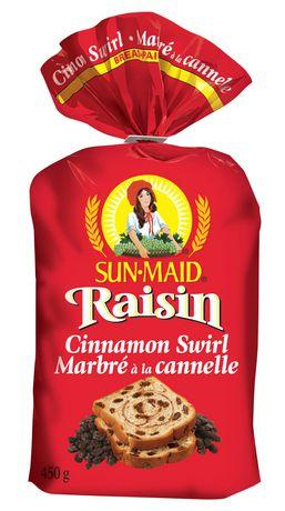 Sun-Maid® Raisin Cinnamon Swirl Bread