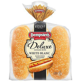Dempster's® Deluxe White Sausage Buns