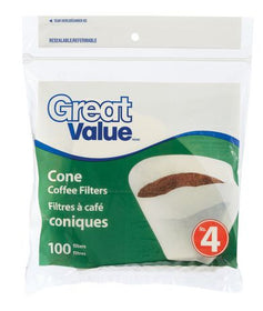 Cone Coffee Filters Size #4