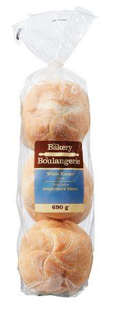 The Bakery White Kaiser Buns