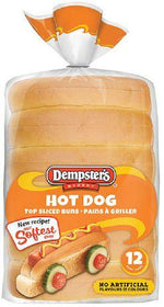 Dempster's® Top Sliced Hot Dog Buns