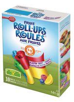 Betty Crocker Fruit Roll Ups Berry Fruit Flavoured Snacks