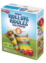 Betty Crocker Fruit Roll Ups Tropical Tie-Dye Fruit Flavoured Snacks