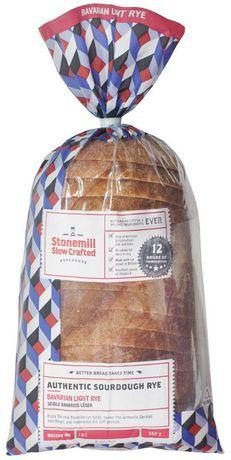 Stonemill Bavarian Light Sourdough Rye Bread