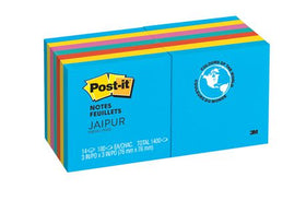 "Post-it 3"" X 3"" Jaipur Collection Notes"