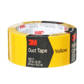 3M Canada 3M™ Yellow Duct Tape 3920-YL, 1.88 in X 20 Yd (48 mm X 18,2 m)