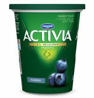 Activia Blueberry 2.9% M.F. Probiotic Yogurt