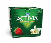 Activia Strawberry/Vanilla 2.9% M.F. Probiotic Yogurt