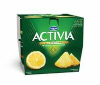 Activia Lemon/Pineapple 2.9% M.F. Probiotic Yogurt
