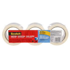 Scotch 3850-3-ESF Heavy Duty Shipping Packaging Tape