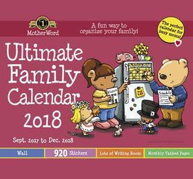Ultimate Family Calendar - Small