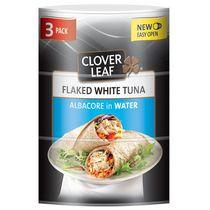 CLOVER LEAF® Flaked White Tuna Albacore in Water