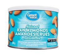 Great Value Natural Raw Almonds