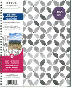 Geo Large Monthly Cyo Planner