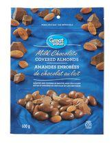Great Value Milk Chocolate Covered Almonds
