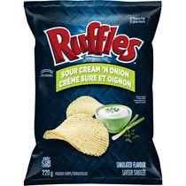 Ruffles Sour Cream and Onion Potato Chips