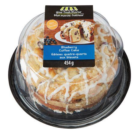 Your Fresh Market Blueberry Coffee Cake