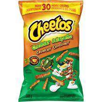 Cheetos Cheddar Jalapeno Crunchy Cheese Flavoured Snacks