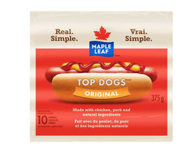 Maple Leaf Top Dogs Original Wieners
