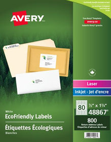 Eco-Friendly Return Address Labels