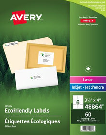 Eco-Friendly Shipping Labels