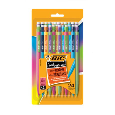 Xtra Strong Mechanical Pencil Black 0.9mm 24-pack