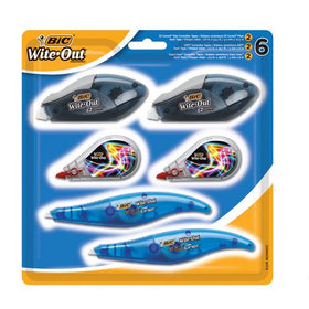 Wite-Out Correction Tape Value Pack