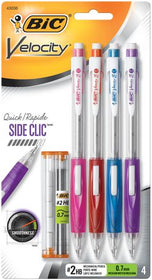 Velocity Side Clic Mechanical Pencil Black 0.7mm