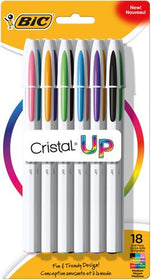 Cristal up Ball Pen Stick Assorted Medium Point