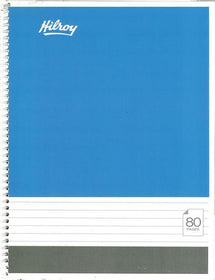 #Hilroy 80 Page Notebook