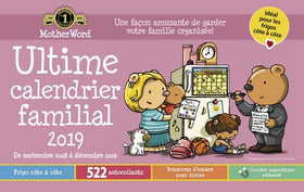 2019 MotherWord® Ultimate Family Calendars – Medium (side by Side Version)