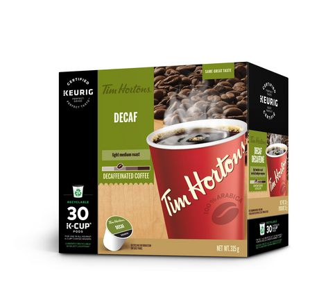 Tim Hortons Decaf Light Medium Roast