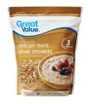 Great Value Steel Cut Oats