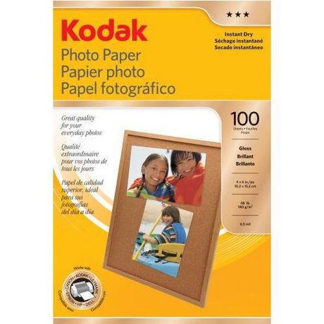 Photo Paper Gloss 4x6 100 Sheet