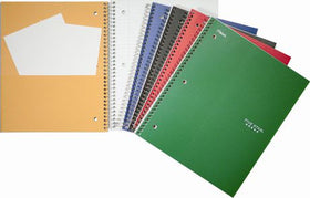 1 Subject Wirebound Notebooks