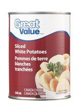 Great Value Sliced White Potatoes
