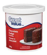 Great Value Chocolate Fudge Icing