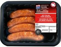 Maple Leaf Hot Italian Pork Sausages