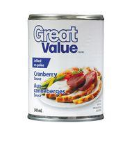 Great Value Jellied Cranberry Sauce