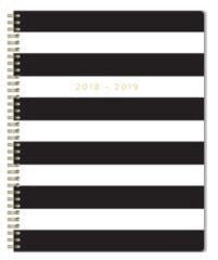 Markings Black&White Tri-fold Weekly Organizer