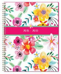 Markings Pink Floral Tri-fold Weekly Organizer