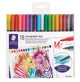 Marsgraphic Double Ended Watercolor Brush Markers