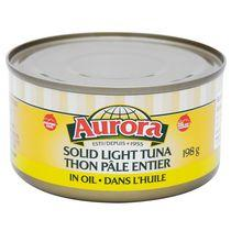 Aurora Solid Light Tuna in Oil