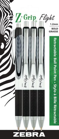 Zebra Z-Grip Flight Retractable Ball Point Pen