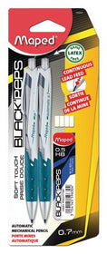 Assorted 0.7 mm Automatic Mechanical Pencils with Leads Refills