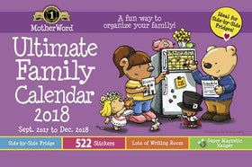 Ultimate Family English Small Calendar