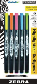 Zebrite Assorted Highlighters